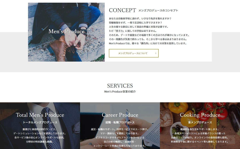 Men's Produce